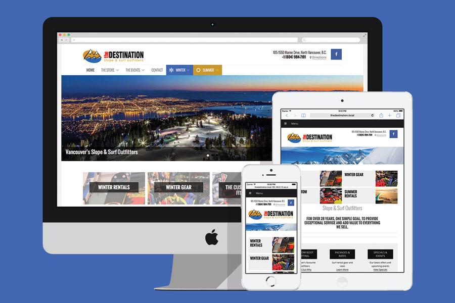 The Destination New Website